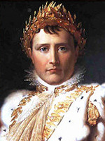 Napol�on Bonaparte - m�lad av Jacques-Louis David