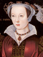 Catherine Parr - m�lad av William Scrots ca. 1545